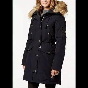 Michael Kors heavy winter parka jacket black XL